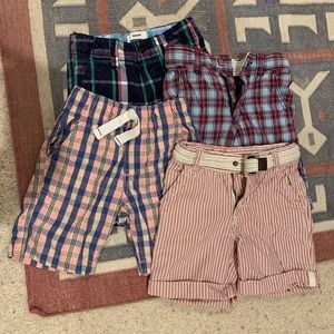 Bundle of Preppy Shorts Plaids and Stripes